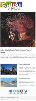 Enjoy Salou's Golden Nights between 7 and 15 August