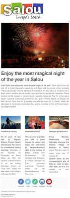 Enjoy the most magical night of the year in Salou