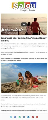 "Experience your summertime ""momentcials"" in Salou"