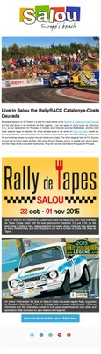 Live in Salou the Rally RACC Catalunya-Costa Daurada