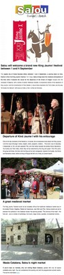 Salou will welcome a brand new King Jaume I festival between 1 and 4 September